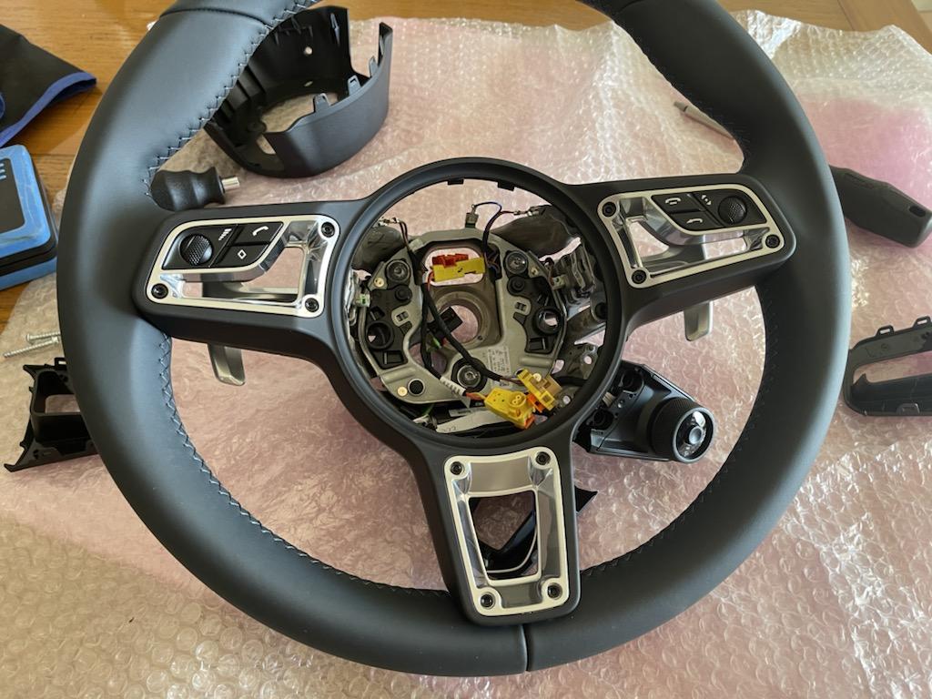 Tuto 991.2: customisation volant sport GT multifonctions PDK/Sport Chrono avec pièces DBCarbon 0463f810