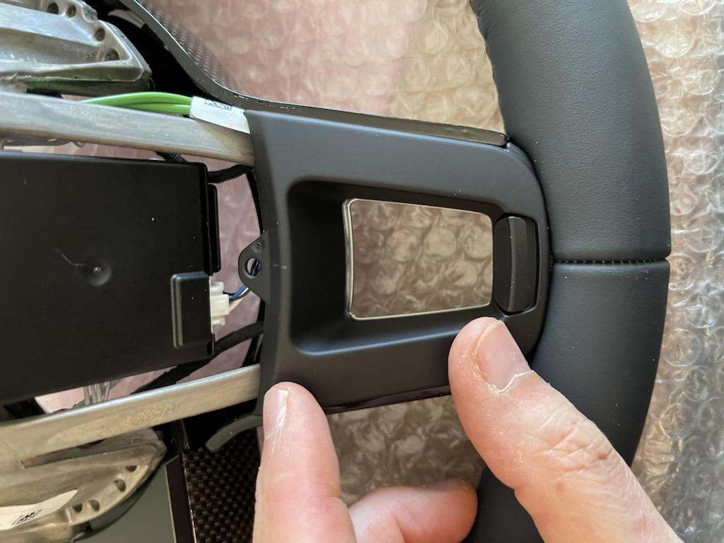 Tuto 991.2: customisation volant sport GT multifonctions PDK/Sport Chrono avec pièces DBCarbon 111f6710