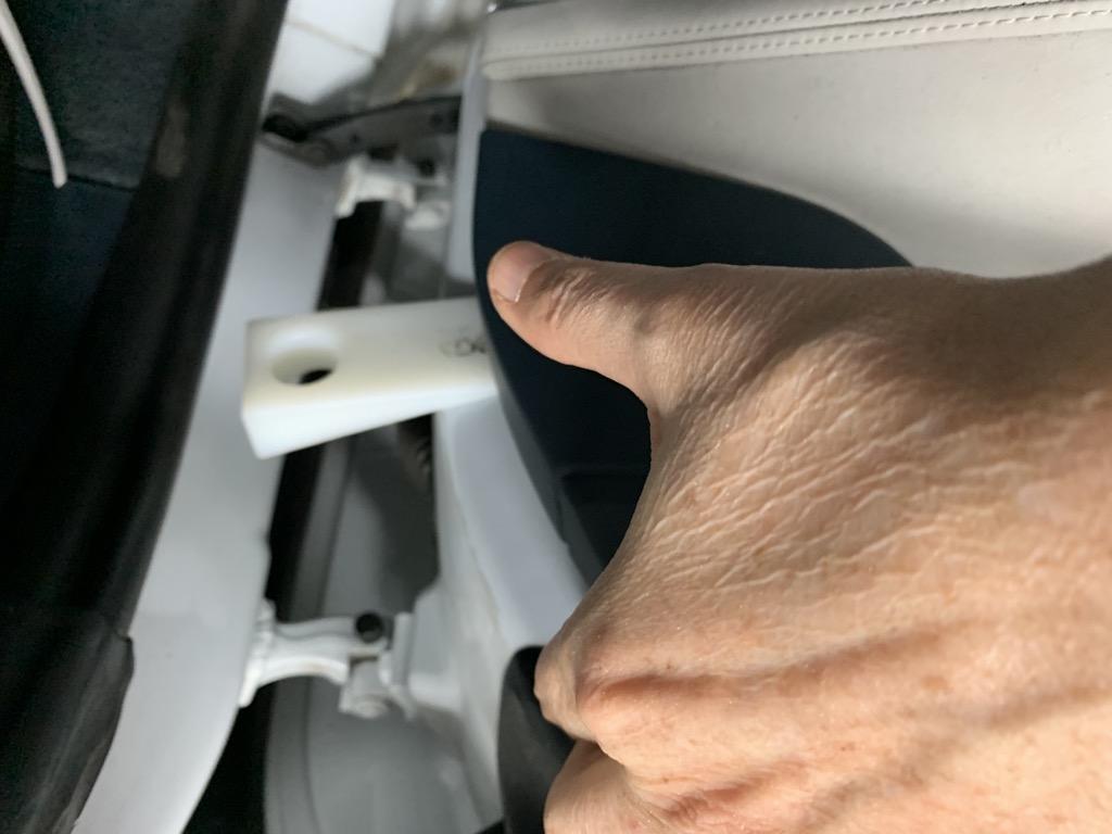 Tuto 991.2: Installation cache latérale airbag portière pièce DBCarbon 1785f210
