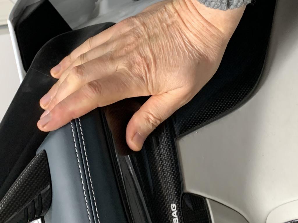 Tuto 991.2: Installation cache latérale airbag portière pièce DBCarbon 1fd5c210