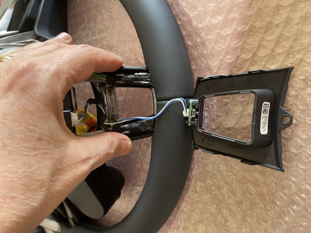 Tuto 991.2: customisation volant sport GT multifonctions PDK/Sport Chrono avec pièces DBCarbon 2af22a10
