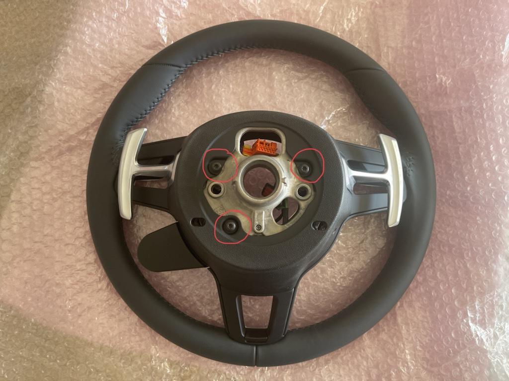 Tuto 991.2: customisation volant sport GT multifonctions PDK/Sport Chrono avec pièces DBCarbon 2f4c3410