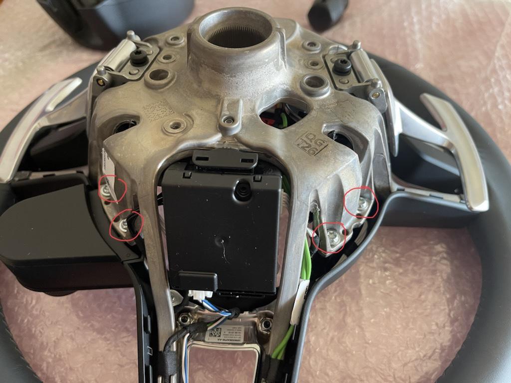 Tuto 991.2: customisation volant sport GT multifonctions PDK/Sport Chrono avec pièces DBCarbon 5d0b7210