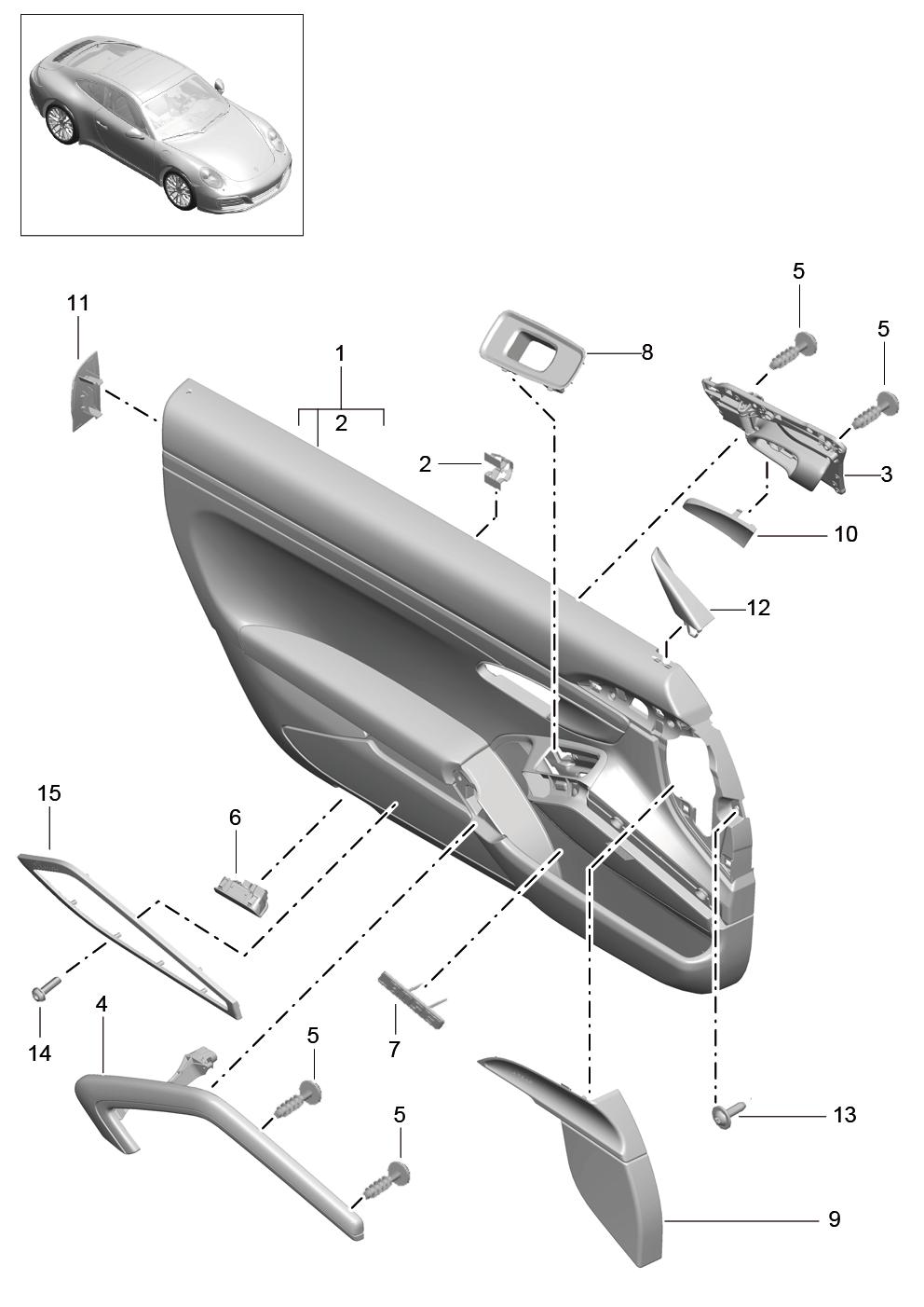 Tuto 991.2: Installation cache latérale airbag portière pièce DBCarbon 6e91e310