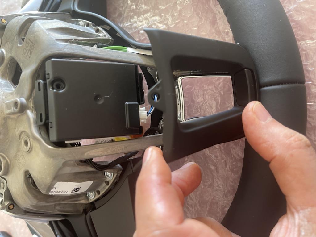 Tuto 991.2: customisation volant sport GT multifonctions PDK/Sport Chrono avec pièces DBCarbon 7ad8ed10