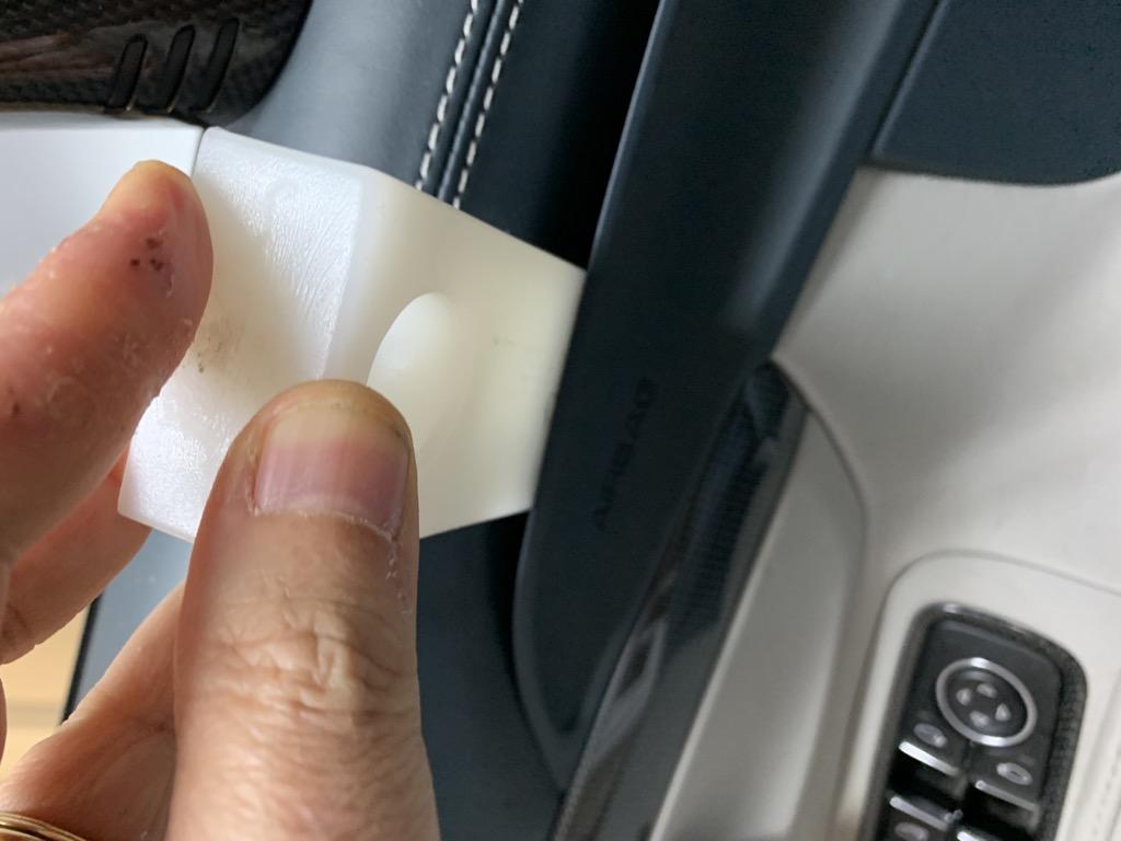 Tuto 991.2: Installation cache latérale airbag portière pièce DBCarbon A5dec610