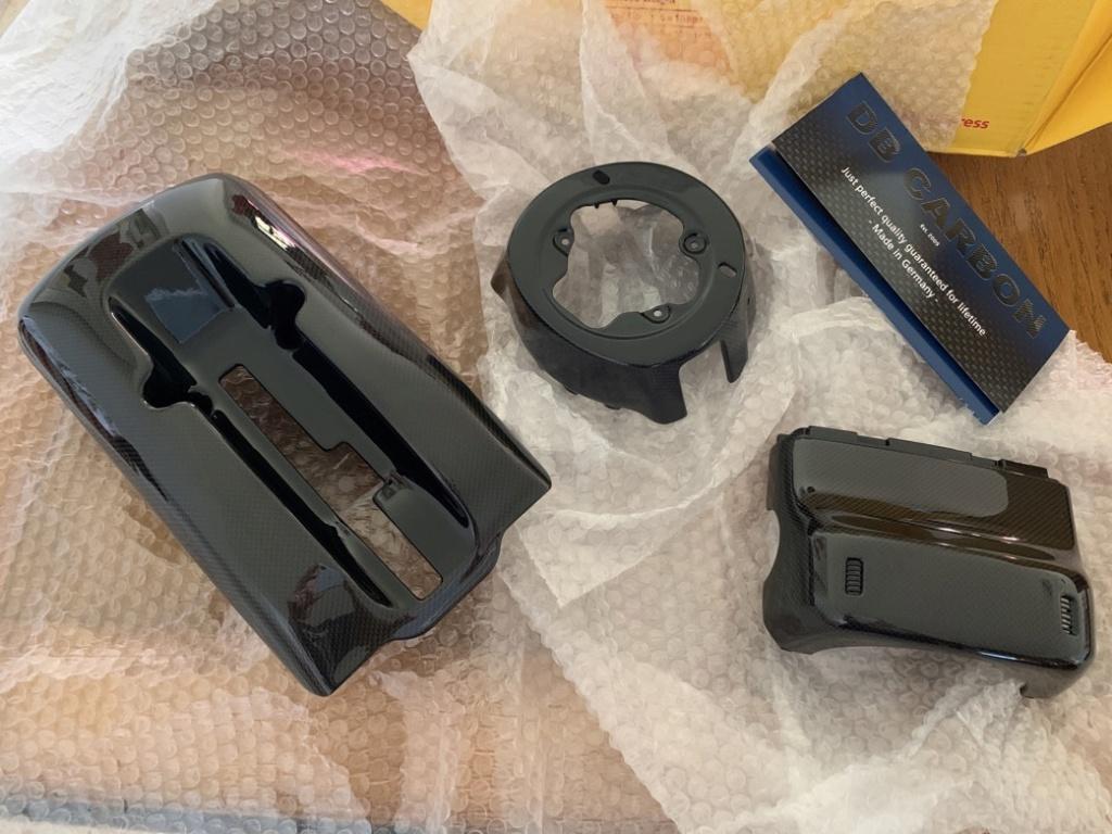 Tuto 991.2: installation cache colonne de direction par pièces DBCarbon Bc911-88