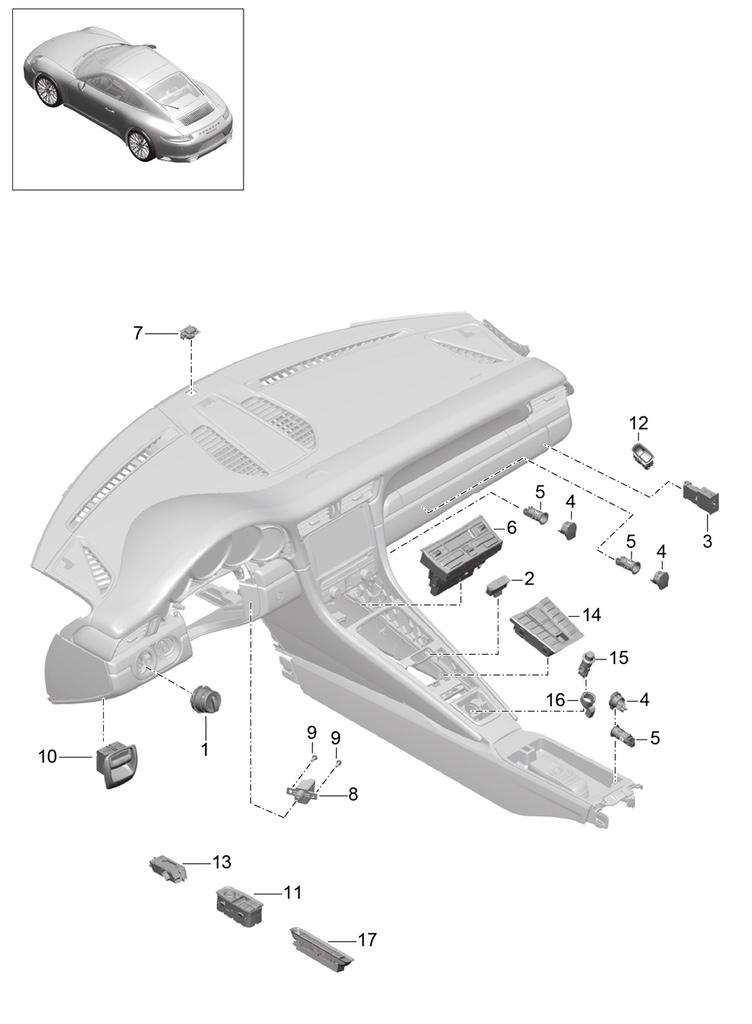 Tuto 991.2: installation des pas de porte par pièces DBCarbon Bc911151