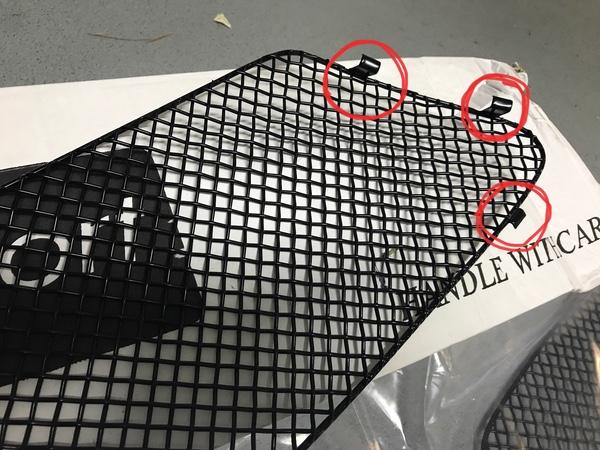 Tuto 991.2: Montage de grilles Zunsport avec bouclier avant SportDesign Fa627610