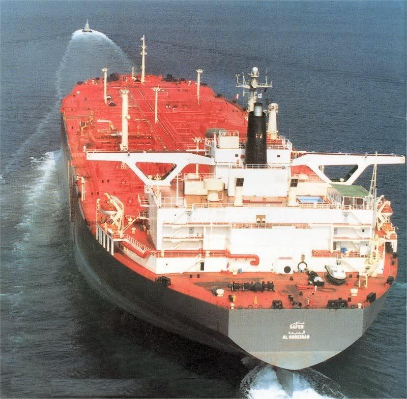 Risque d'explosion d'un pétrolier au large du Yémen 13da2010