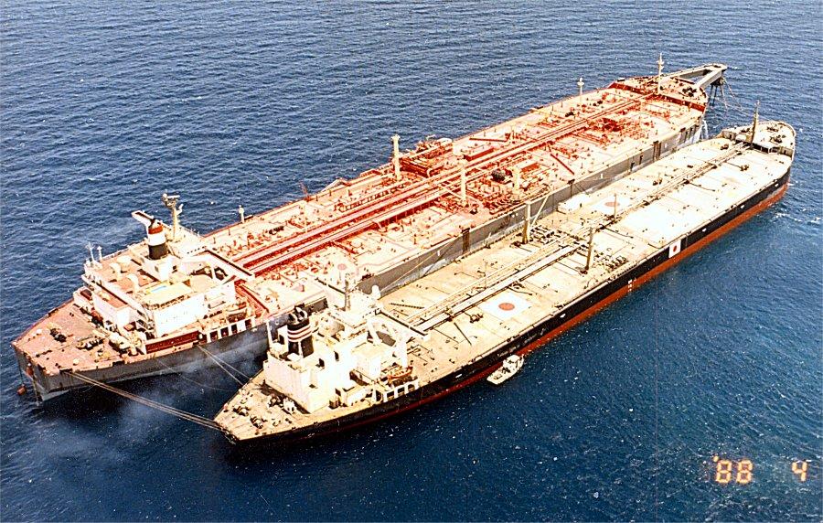 Risque d'explosion d'un pétrolier au large du Yémen 13de8410