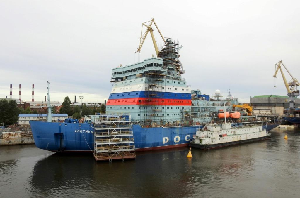 Fin des essais en mer pour l'Arktika, le plus puissant brise 30629710
