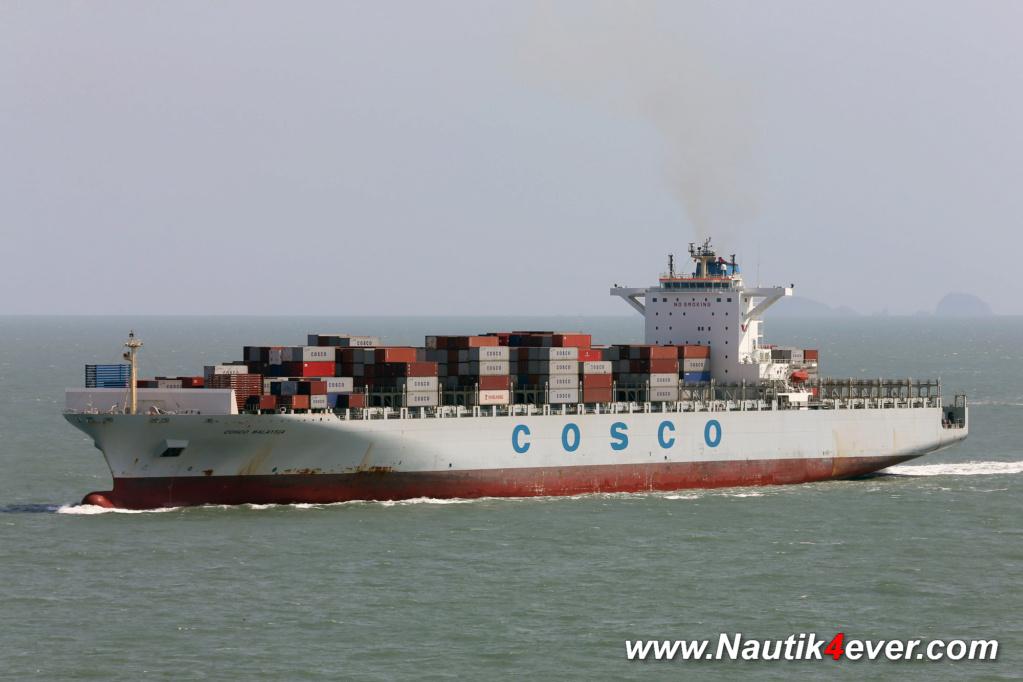 Sauvetage audacieux par le boxship COSCO et la Garde côtière 31088110