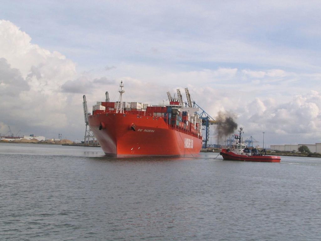 Mon Dernier Navire RIO MADEIRA  Hamburg Süd  772-ri10