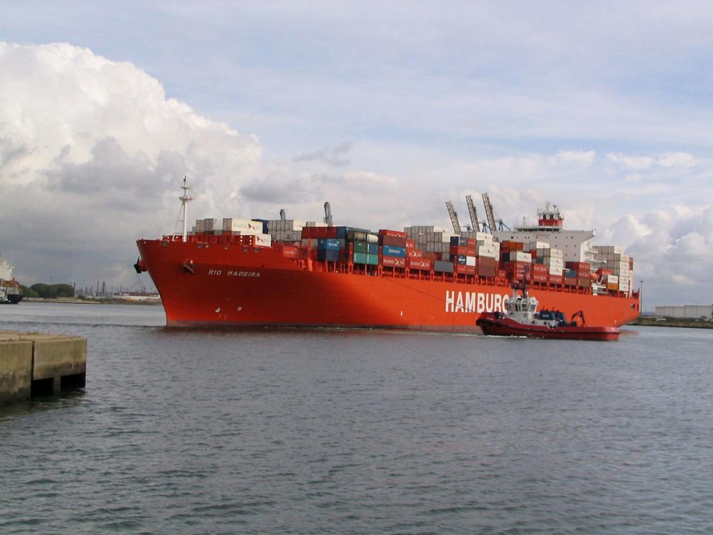 Mon Dernier Navire RIO MADEIRA  Hamburg Süd  773-ri10