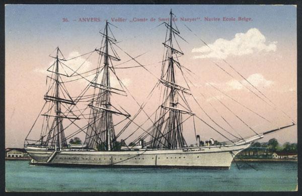 Le Comte de Smet de Naeyer navire-école belge 78851-10
