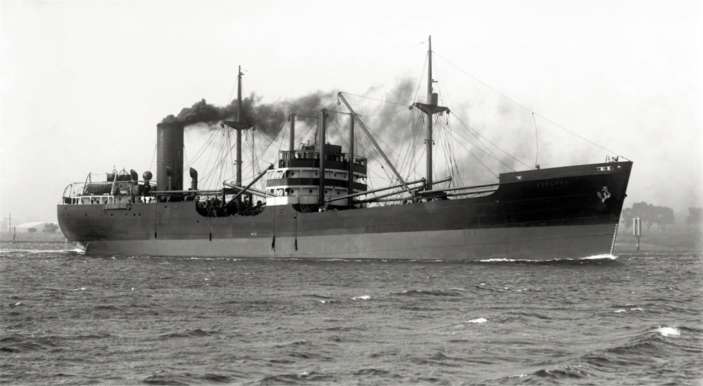 Photos General cargo avant 1940 (Plus 3000gt) 26 Adelon13