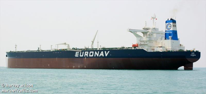 La flotte Euronav Alex110