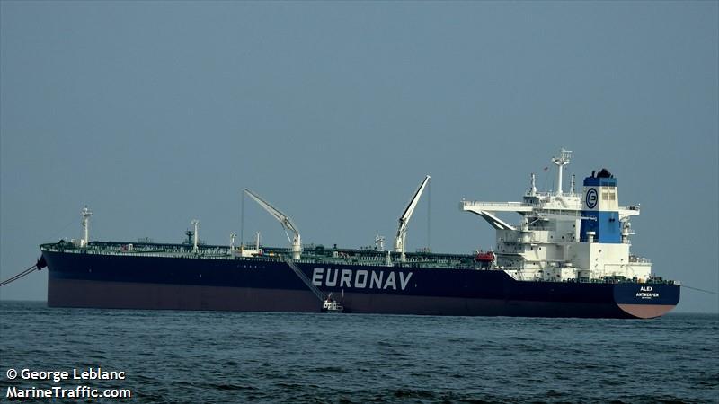 La flotte Euronav Alex210