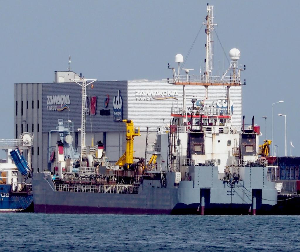 Photos de navires Luxembourgeois Armateur enregr Belgique A Ambika10