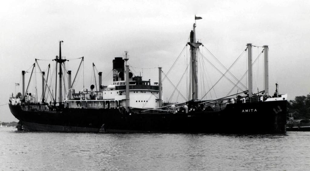 Photos General cargo avant 1940 (Plus 3000gt) 11 Amita_12