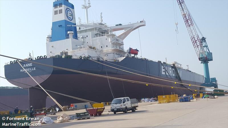 La flotte Euronav Anne110