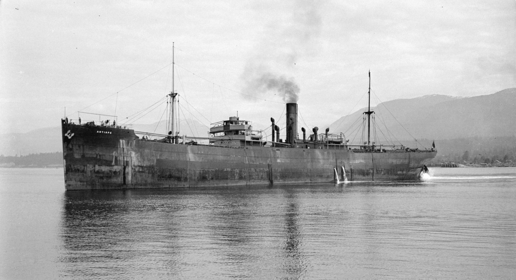 Photos General cargo avant 1940 (Plus 3000gt) 20 Antiop10