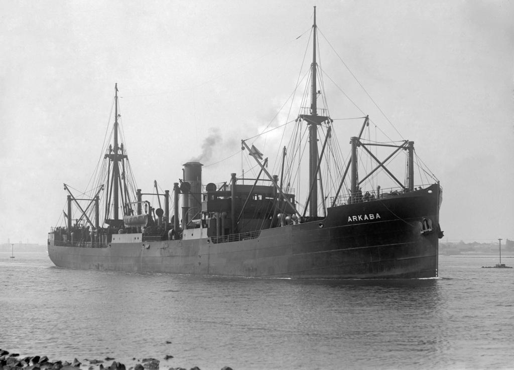 Photos General cargo avant 1940 (Plus 3000gt) 16 Arkaba10