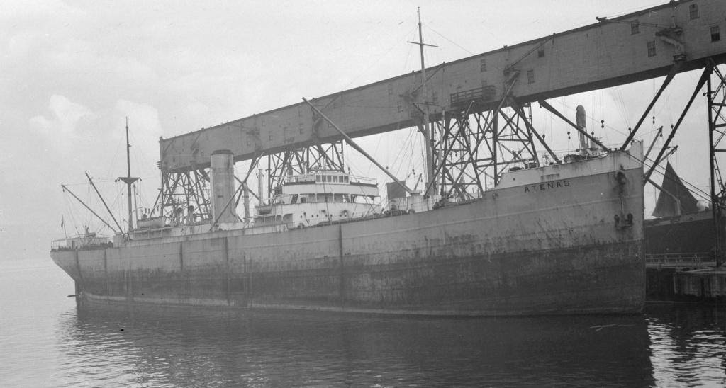 Photos General cargo avant 1940 (Plus 3000gt) 15 Atenas10
