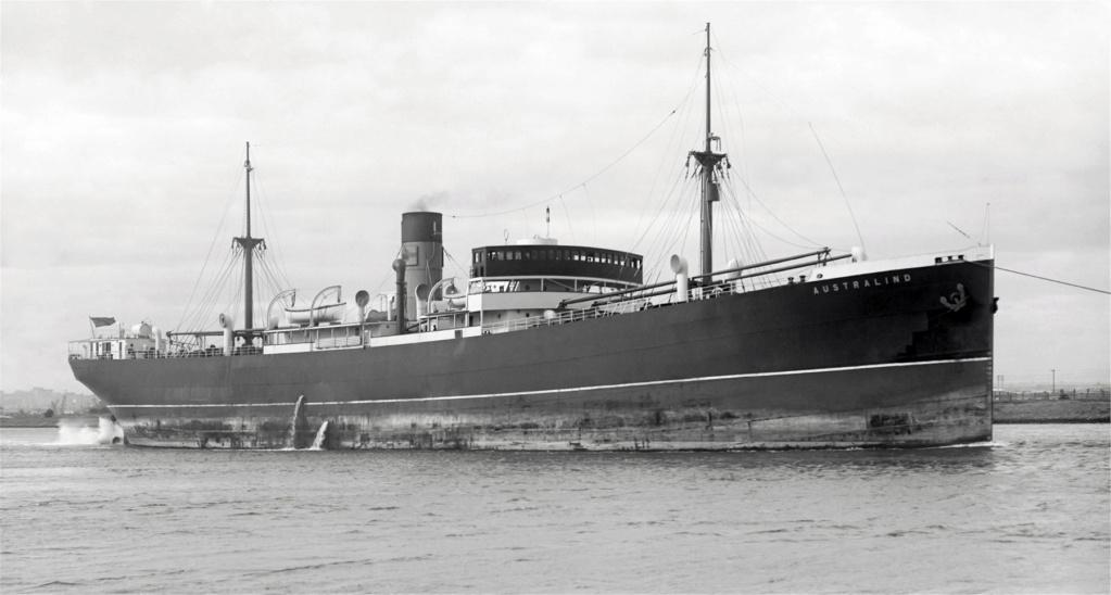 Photos General cargo avant 1940 (Plus 3000gt) 26 Austra10