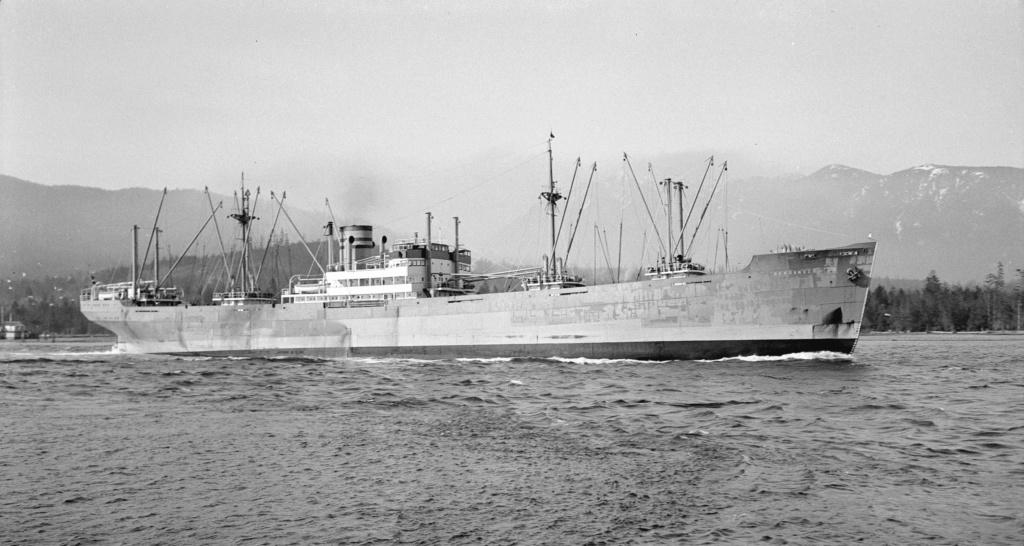 Photos General cargo avant 1940 (Plus 3000gt) 17 Bergan10
