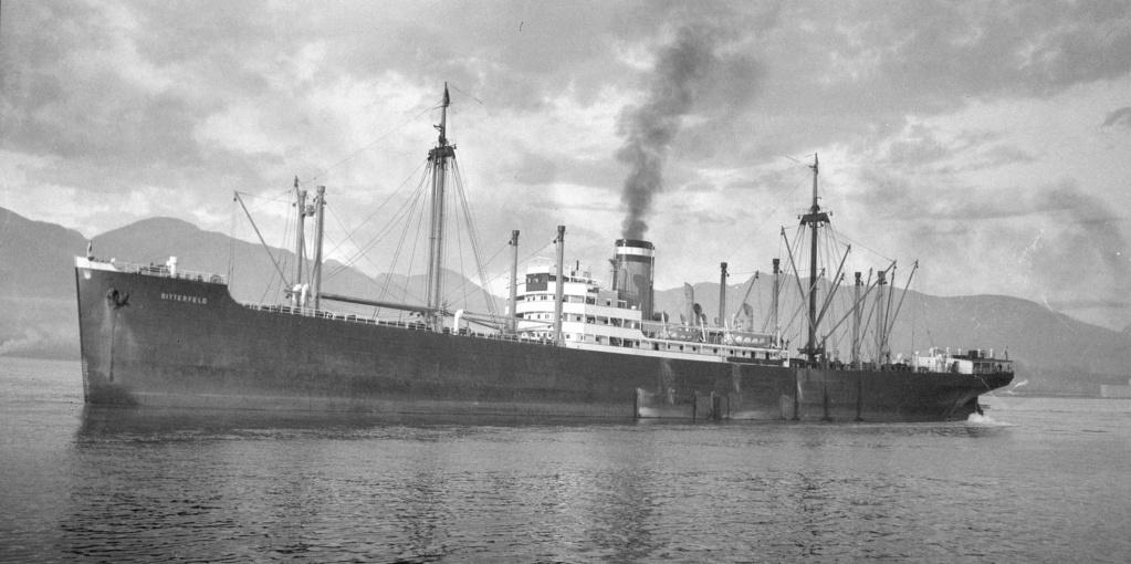 Photos General cargo avant 1940 (Plus 3000gt) 16 Bitter11