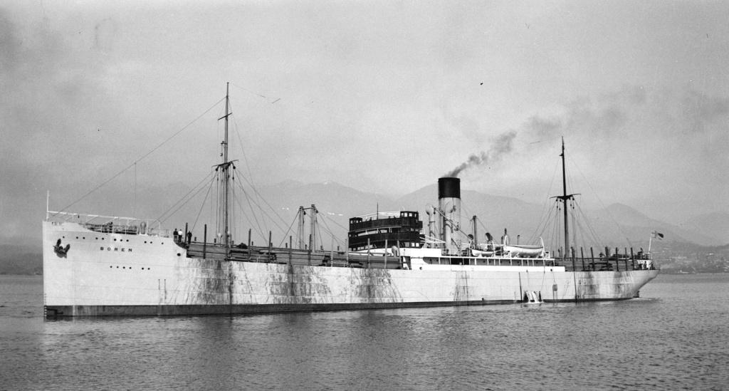 Photos General cargo avant 1940 (Plus 3000gt) 16 Boren11
