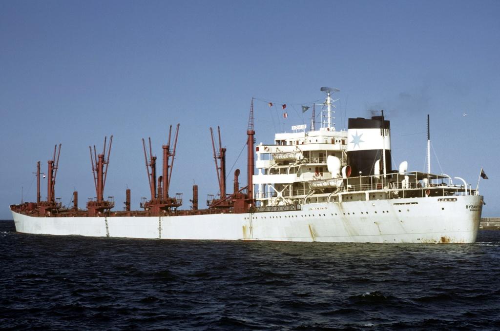 Photos Navires du monde construit entre 1950-1960 (5) Byzant10