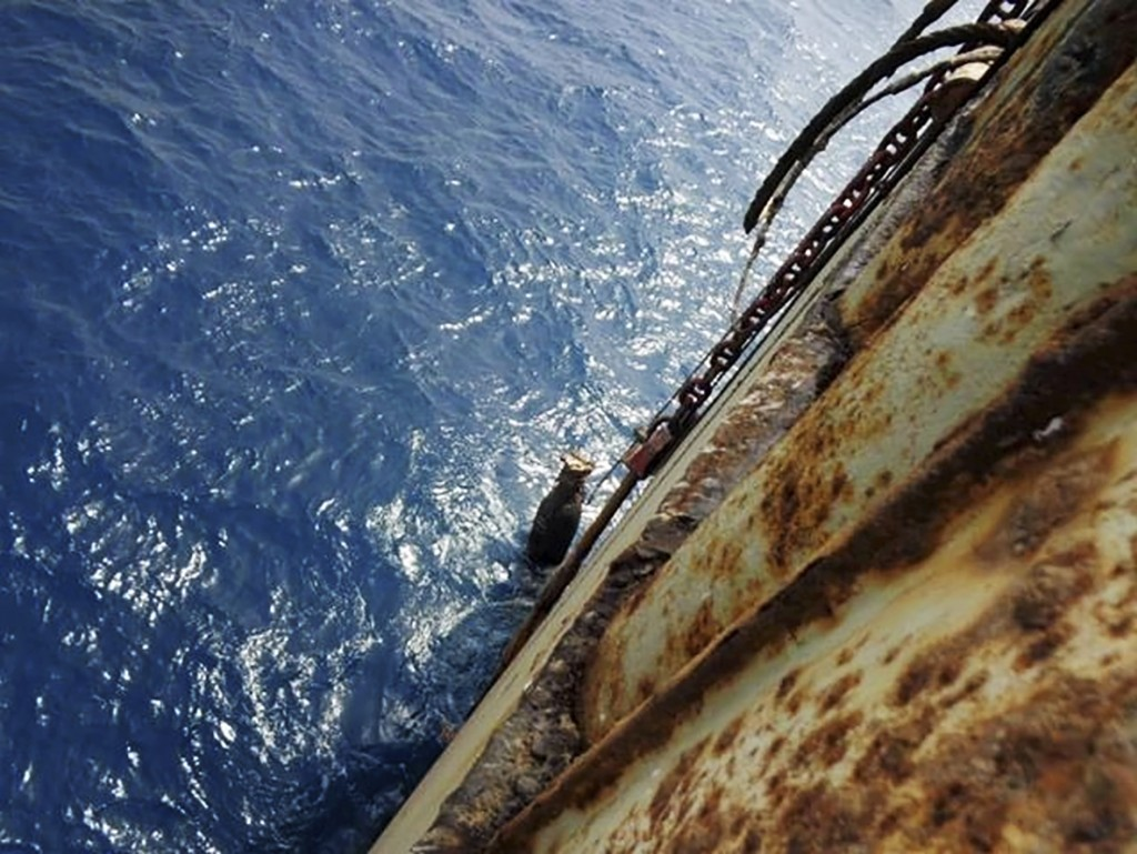 FSO SAFERRisque d'explosion d'un pétrolier au large du Yémen C34f6010