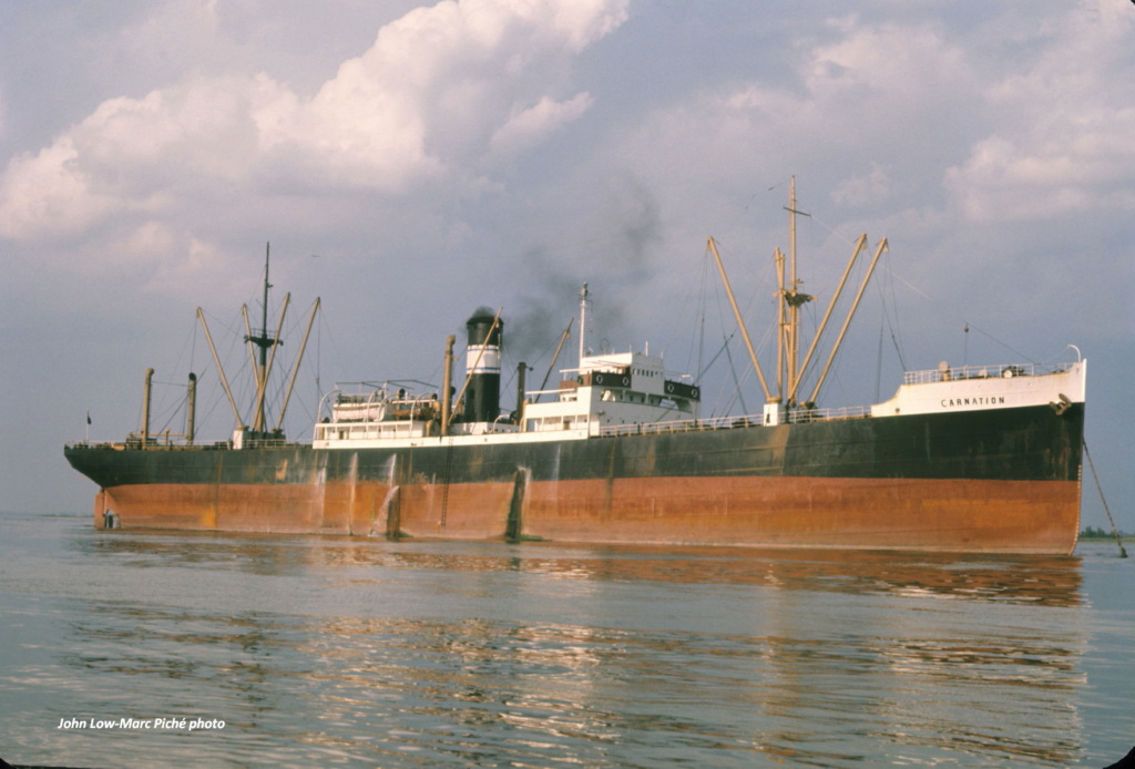 Recherche sur un vieux pétrolier grec, le Carnation - Page 2 Carnat10