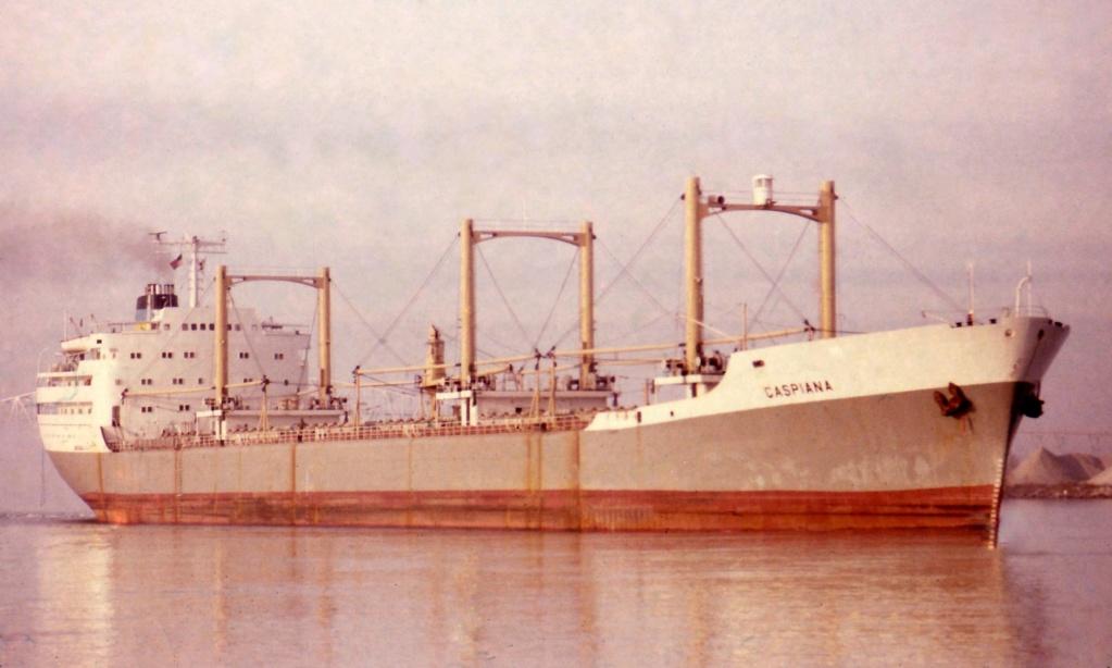 Photos Navires du monde construit entre 1950-1960 (6) Caspia11