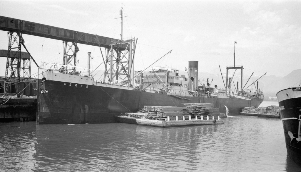 Photos General cargo avant 1940 (Plus 3000gt) 10  Ceres_10