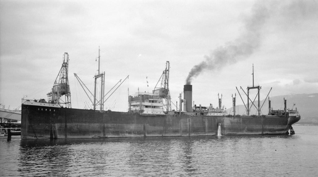 Photos General cargo avant 1940 (Plus 3000gt) 15 Ceres_11