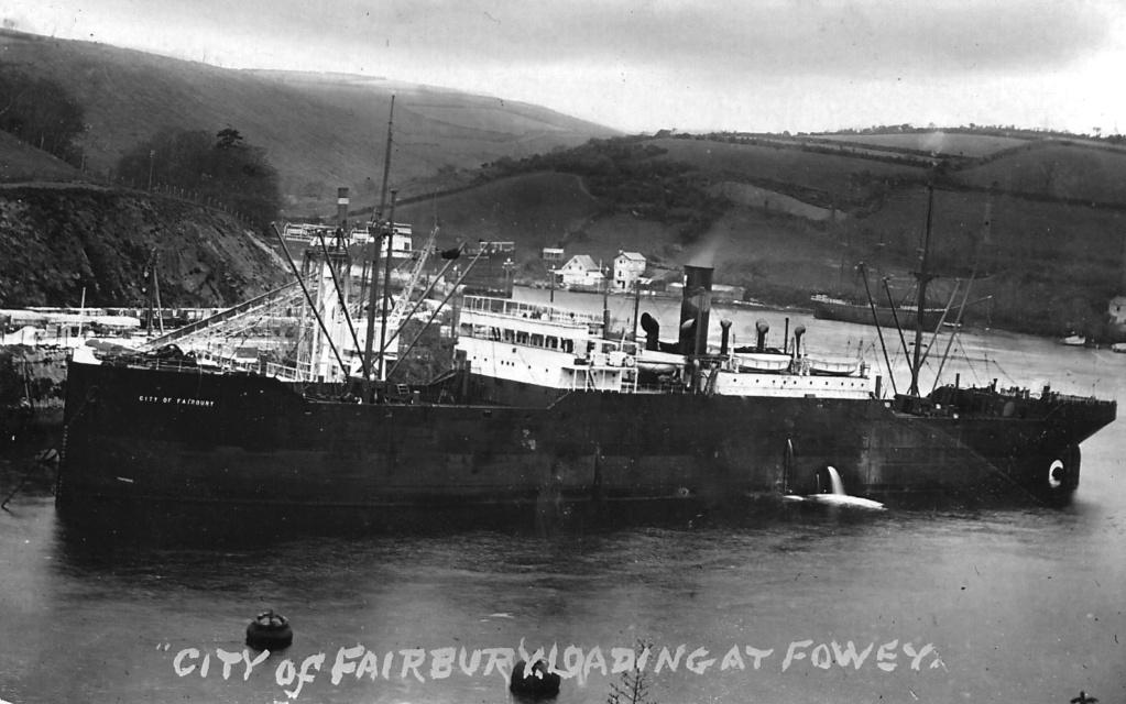 Photos General cargo avant 1940 (Plus 3000gt) 16 City_o14