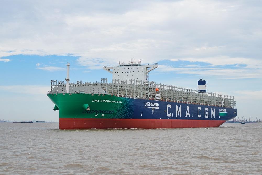 CMA CGM JACQUES SAADE, le premier porte-conteneurs de 23 000 Cma-cg11