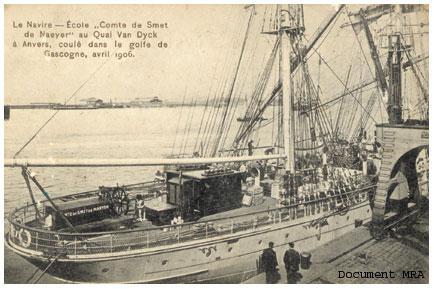 Le Comte de Smet de Naeyer navire-école belge Comte-10
