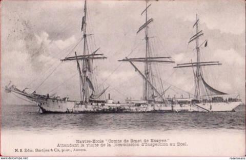 Le Comte de Smet de Naeyer navire-école belge Comte_12
