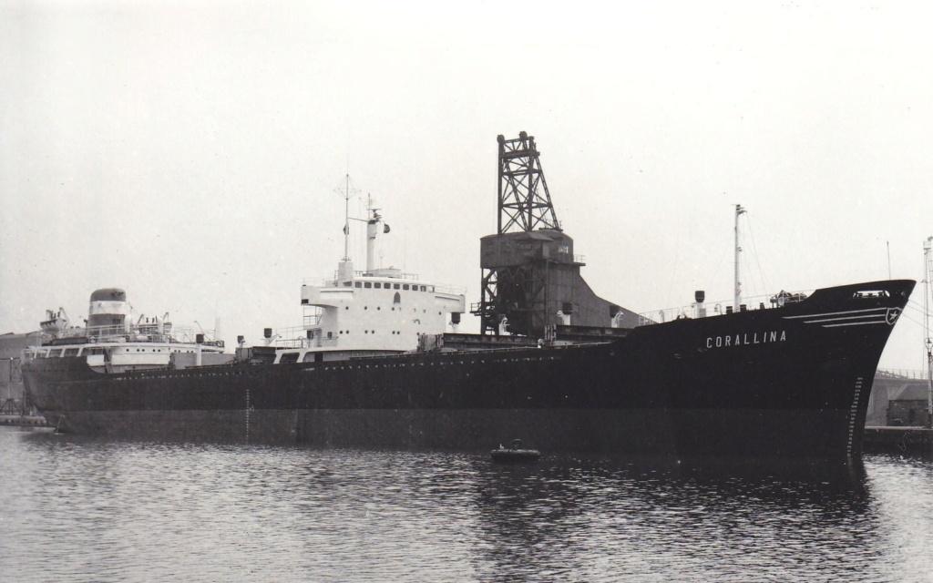 Photos Navires du monde construit entre 1950-1960 (5) Corall10