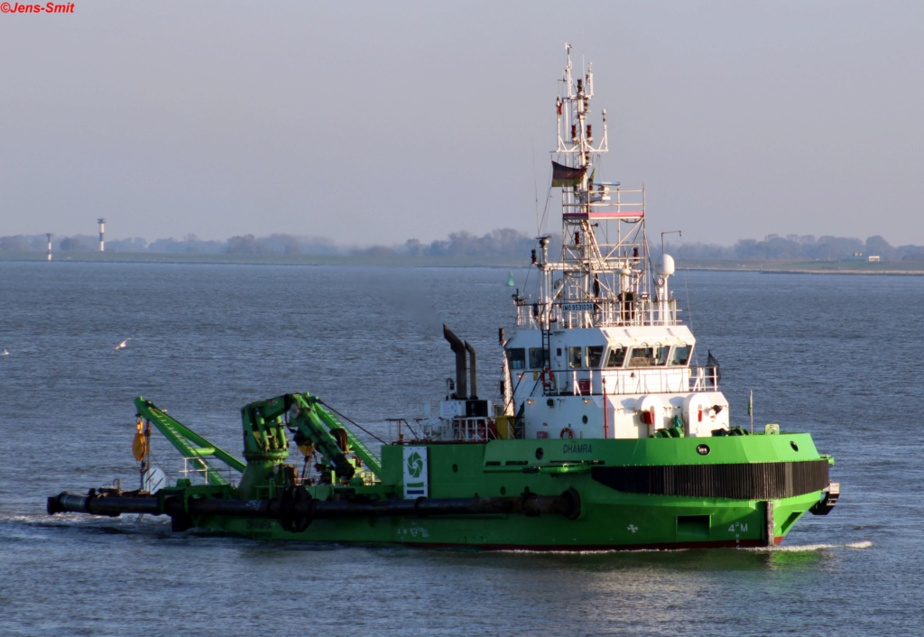 Photos des Navires Belge de la marchande,Fluviale et Pêche 1 Dhamra10