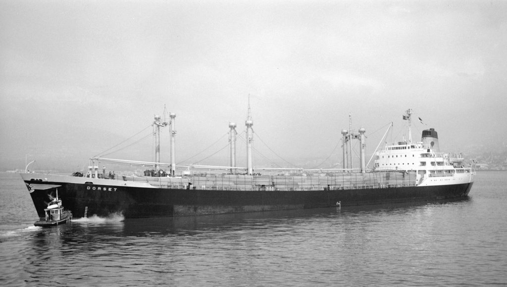 Photos Navires du monde construit entre 1950-1960 (3) Dorset11