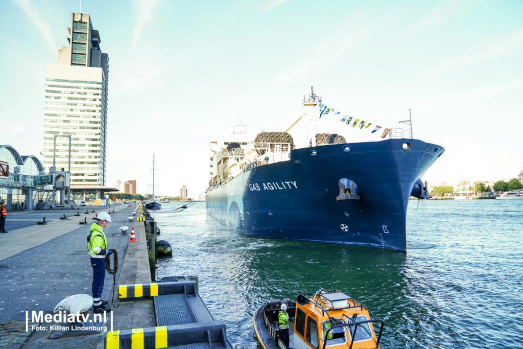 Le plus grand navire de soutage de GNL au monde est nommé à  Eiljo510