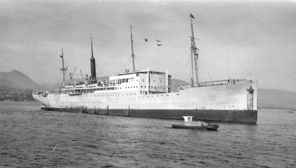 Photos General cargo avant 1940 (Plus 3000gt) 16 Erria10