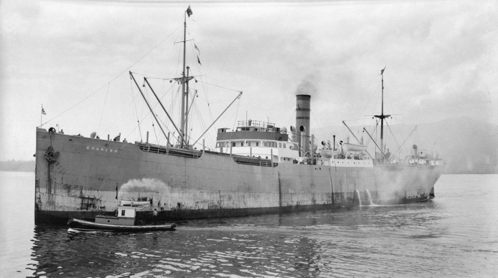 Photos General cargo avant 1940 (Plus 3000gt) 15 Evange10