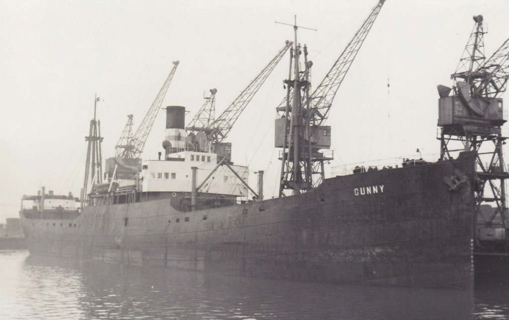 Photos General cargo avant 1940 (Plus 3000gt) 20 Gunny10